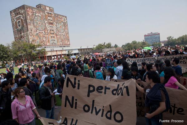 El movimiento estudiantil contraataca