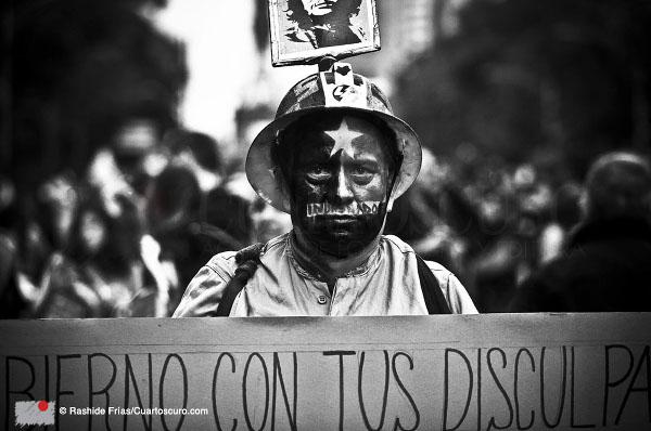 Agravio moral y protesta social | Derechos Rashide Frías - Cuartoscuro.com