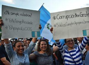 Ana Eugenia Paredes Marín, Luchas anti corrupción y antagonismo social en Guatemala (1)