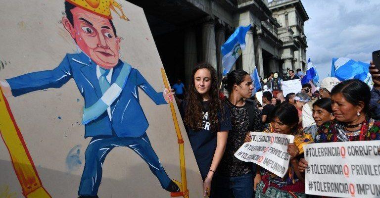Ana Eugenia Paredes Marín, Luchas anti corrupción y antagonismo social en Guatemala (AFP)