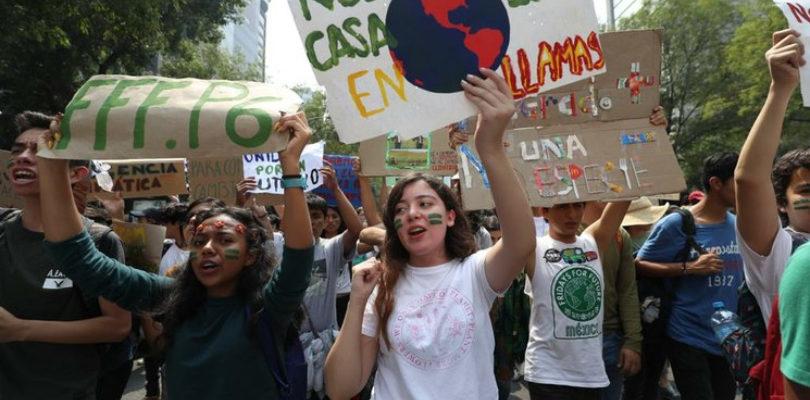 """""""Vuestro tiempo se está acabando y el nuestro está empezando"""" Huelga climática 2019"""