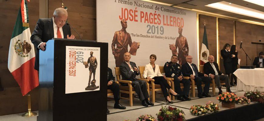 Premio Nacional de Comunicación José Pagés Llergo 2019
