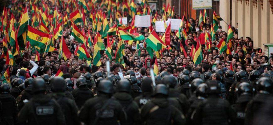 Bolivia en movimiento, desgarramiento e inflexión