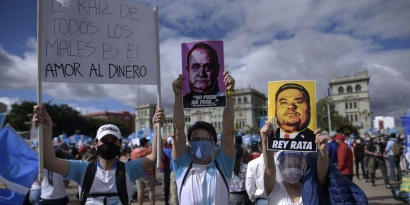 Las protestas en Guatemala del 2020 ¿Algo cambió?