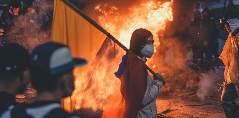 Técnicas de represión de las protestas en Colombia
